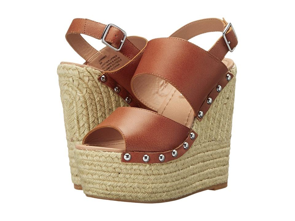 Steve Madden Jummbo (Cognac Leather) Women
