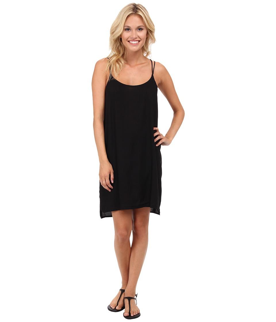 Vans Night Riot Slip Dress (Black) Women
