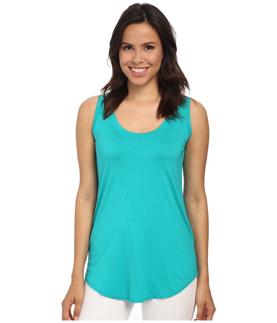 Three Dots - Lightweight Viscose Long Tank (Bali Coast) Women's Sleeveless