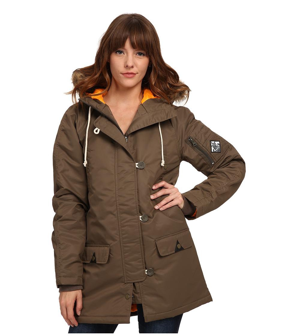 Vans - Fuego Parka (Canteen) Women's Coat