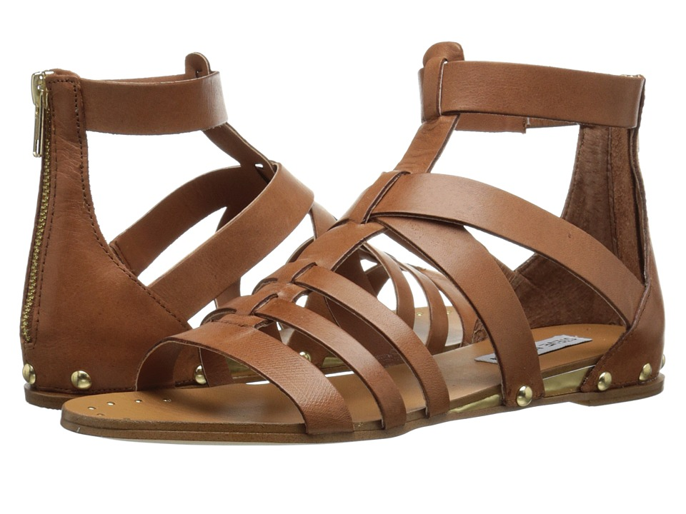 Steve Madden - Drastik (Tan Leather) Women's Sandals