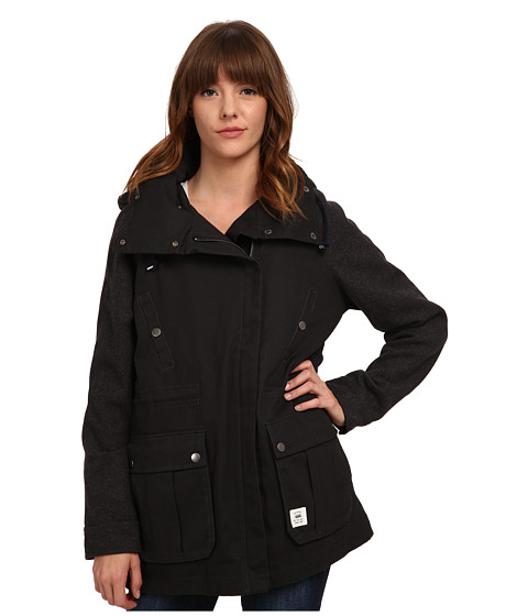 Vans - Sonora Parka (Black) Women's Coat