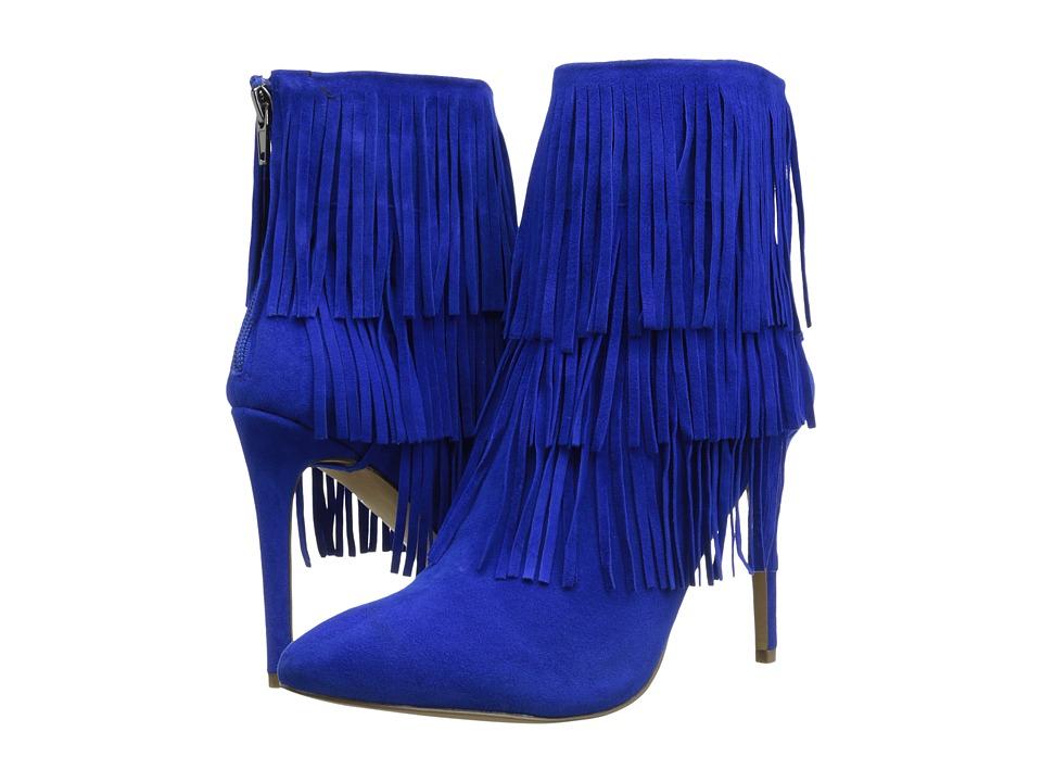 Steve Madden - Flappper (Blue Suede) High Heels