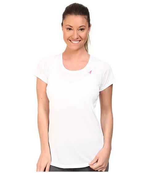 New Balance - Accelerate Tee (White) Women