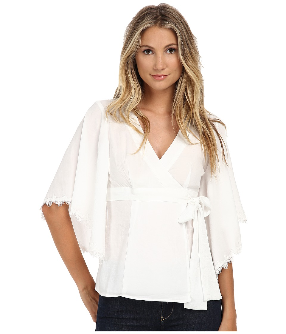 Nanette Lepore - Endless Love Top (Ivory) Women's Clothing