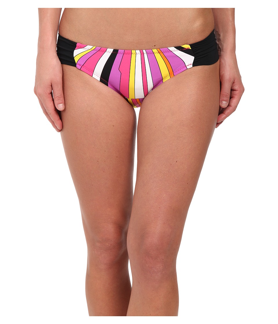 Trina Turk Sunburst Shirred Side Hipster Bottom (Snapdragon Pink) Women
