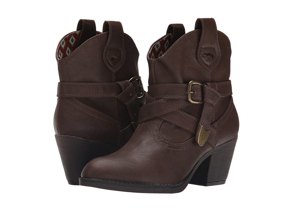 Rocket Dog - Satire (Brown Sierras) Women's Pull-on Boots