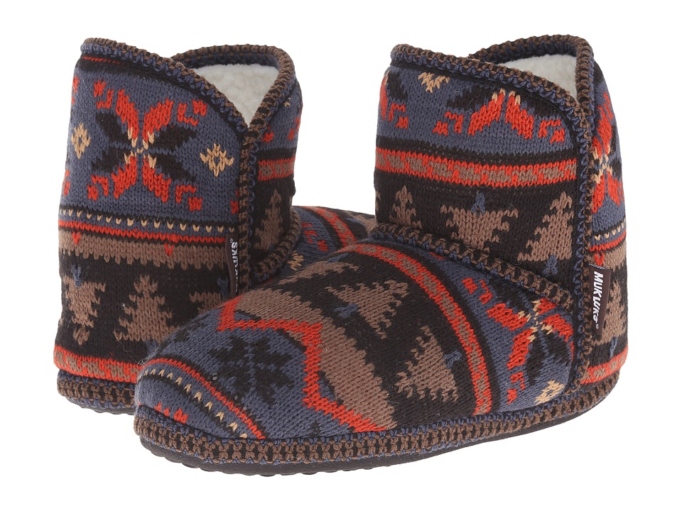 MUK LUKS - Short Boot (Rust) Women