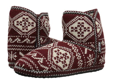 MUK LUKS - Short Boot (Red) Women