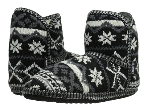 MUK LUKS - Short Boot (Black) Women