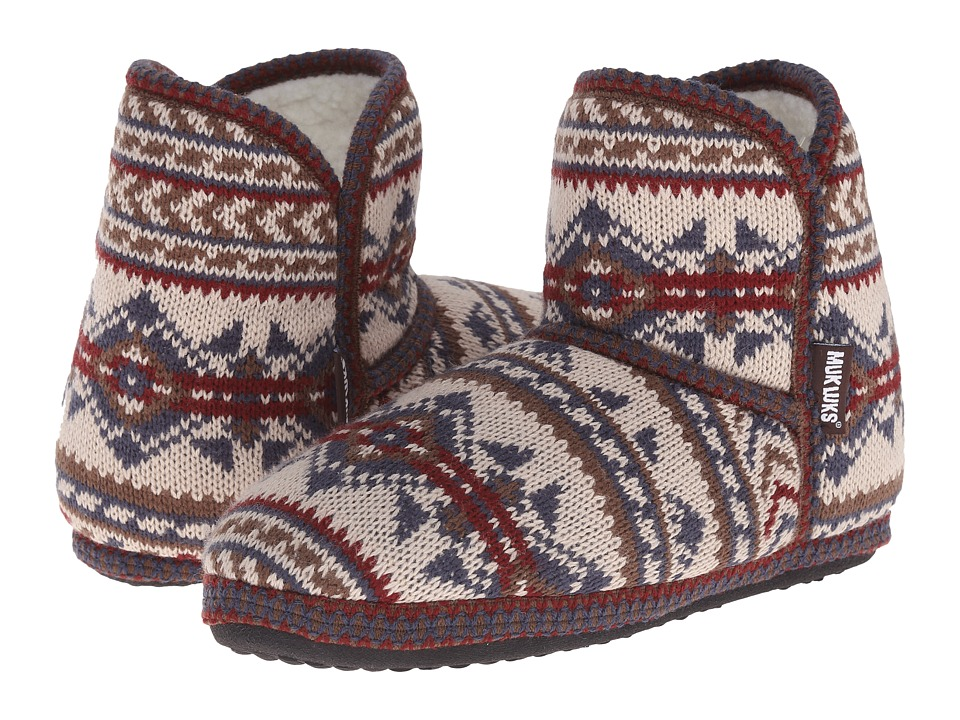 MUK LUKS - Short Boot (Tan) Women