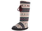 Tall Grommet Tie Boot
