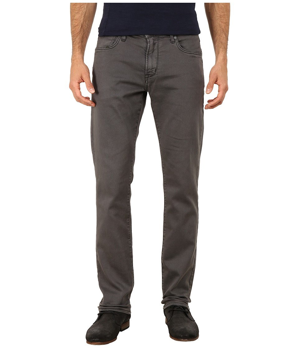 John Varvatos Star U.S.A. - Bowery Fit Knit Slim Straight Jeans in Shark J306R3B (Shark) Men