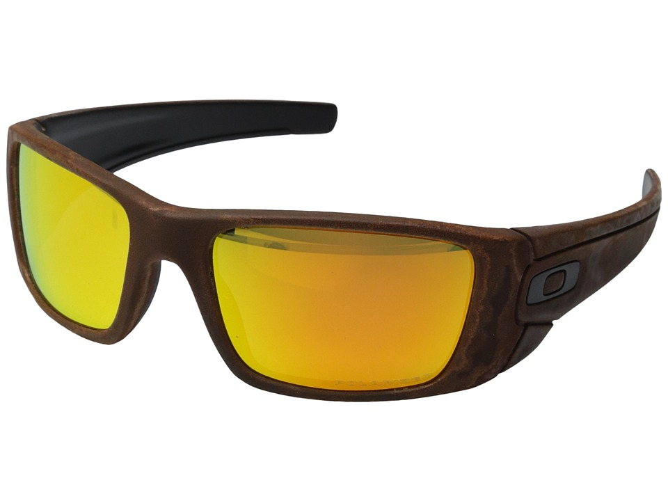 Oakley - Fuel Cell (Rust Decay/Fire Iridium Polarized) Sport Sunglasses