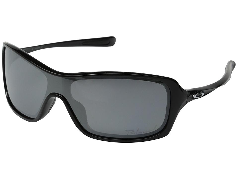 Oakley - Break Up (Polarized Black/Black Iridium Polarized) Sport Sunglasses