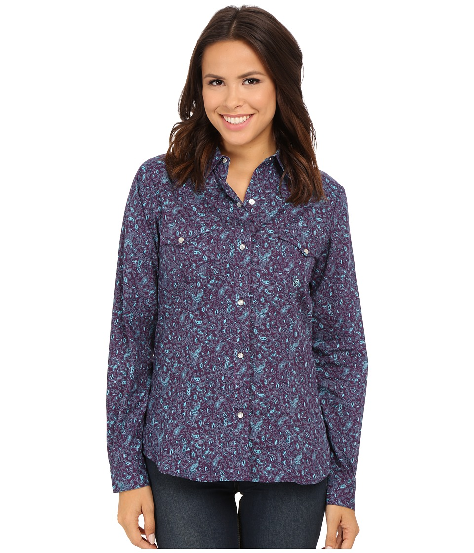 Roper - 0053 Detailed Paisley (Purple) Women