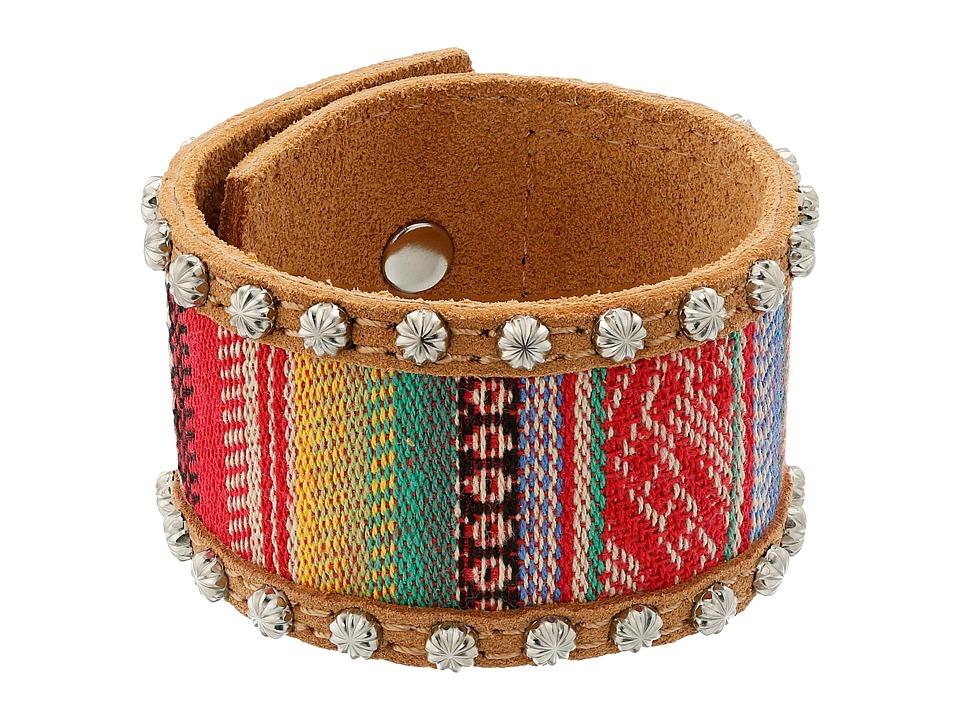 M&F Western - Saddle Blanket Cuff Bracelet (Multi) Bracelet