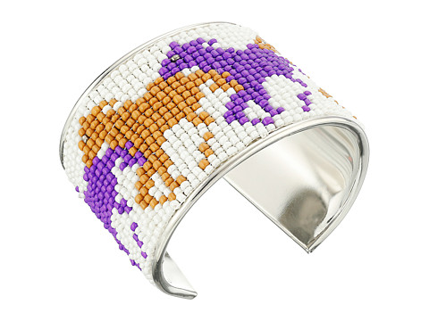 M&F Western - Beaded Horse Cuff Bracelet (White) Bracelet