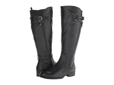 Naturalizer - Jaycee Wide Calf (Black) Women's Shoes