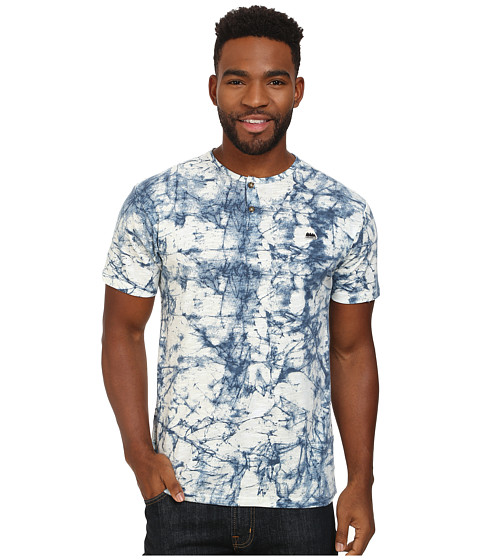 Burton - Mousam Tee (Indigo Stone Print) Men's T Shirt