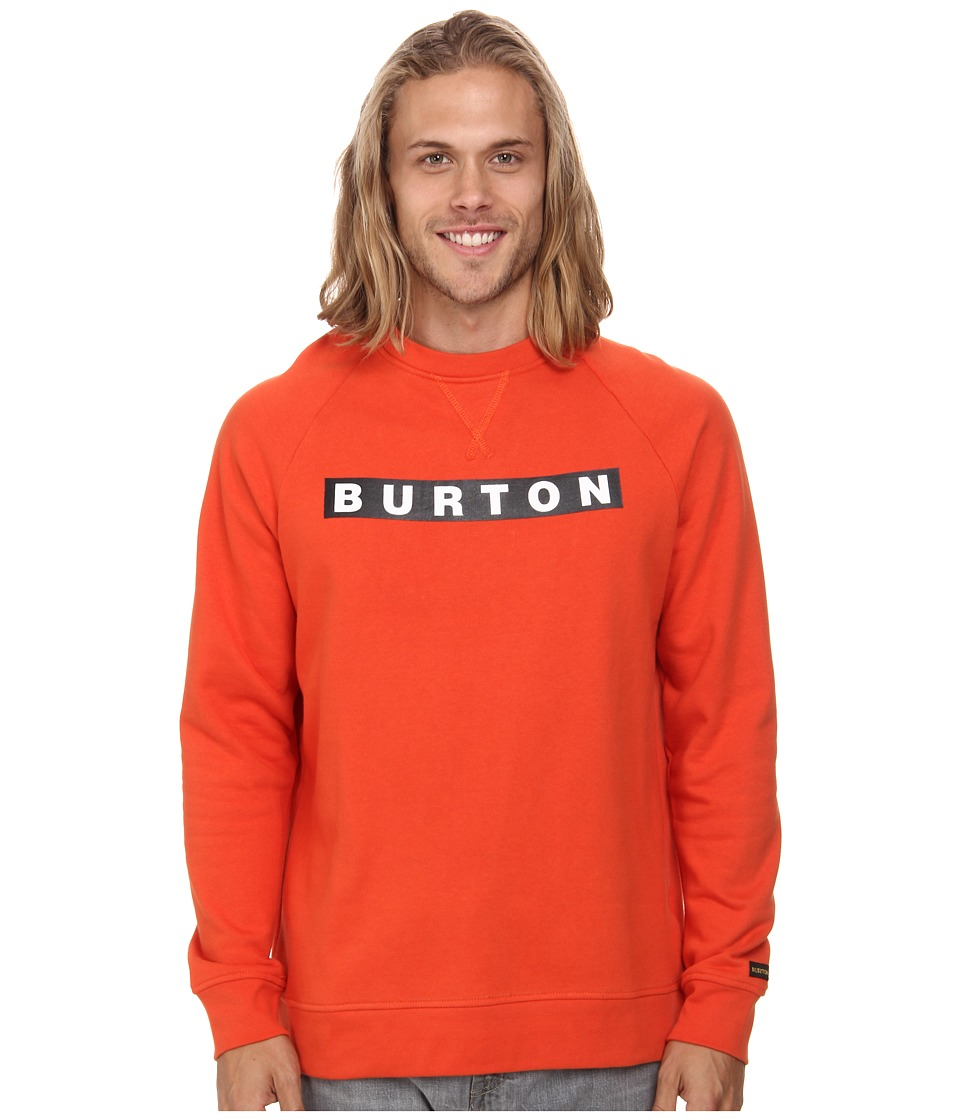 Burton - Vault Crew (Red Clay) Men's Clothing