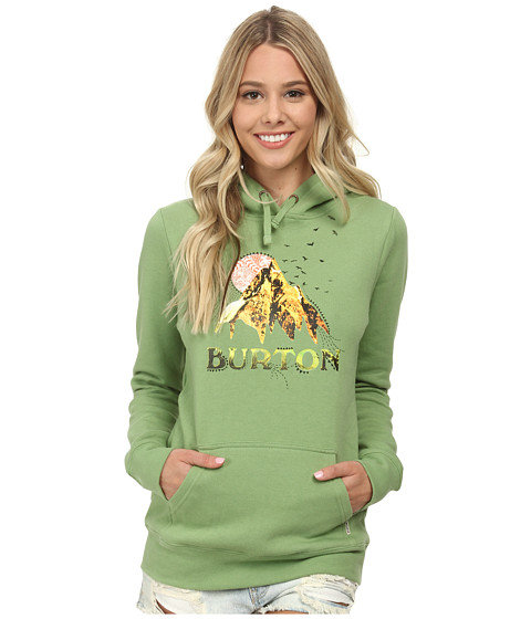 Burton - Sage Pullover Hoodie (Watercress) Women's Sweatshirt