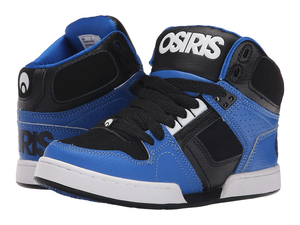 Osiris Kids - NYC 83 (Little Kid/Big Kid) (Blue/Black) Boys Shoes