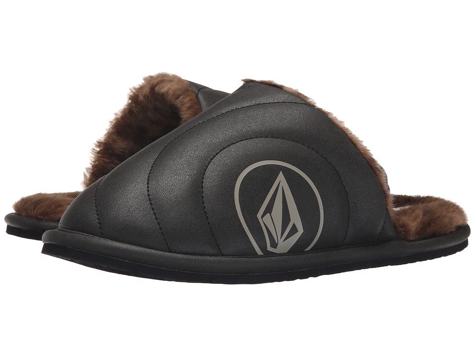 Volcom - Slacker Slipper (Black/Black) Women's Slippers