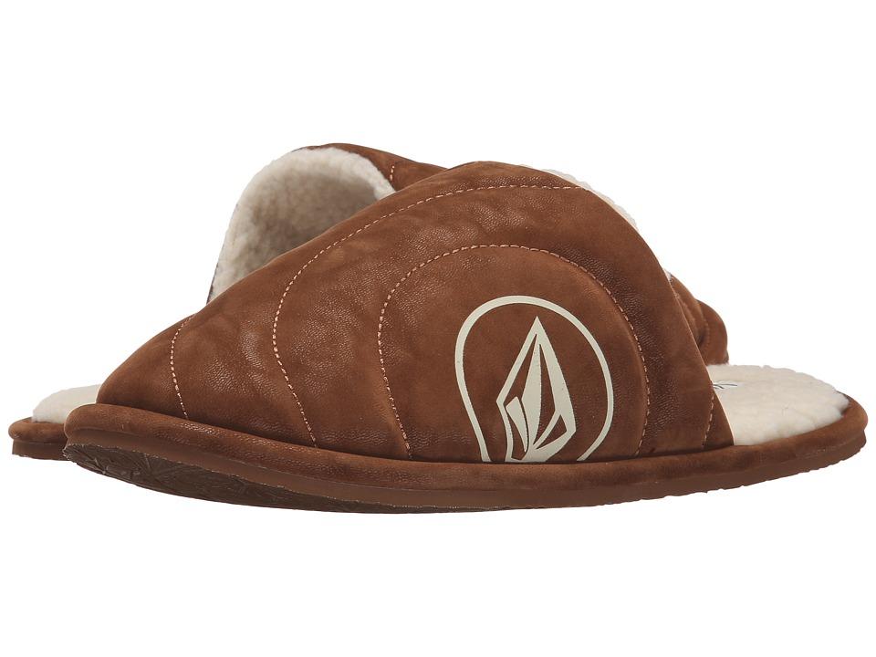 Volcom - Slacker Slipper (Cognac 1) Women's Slippers