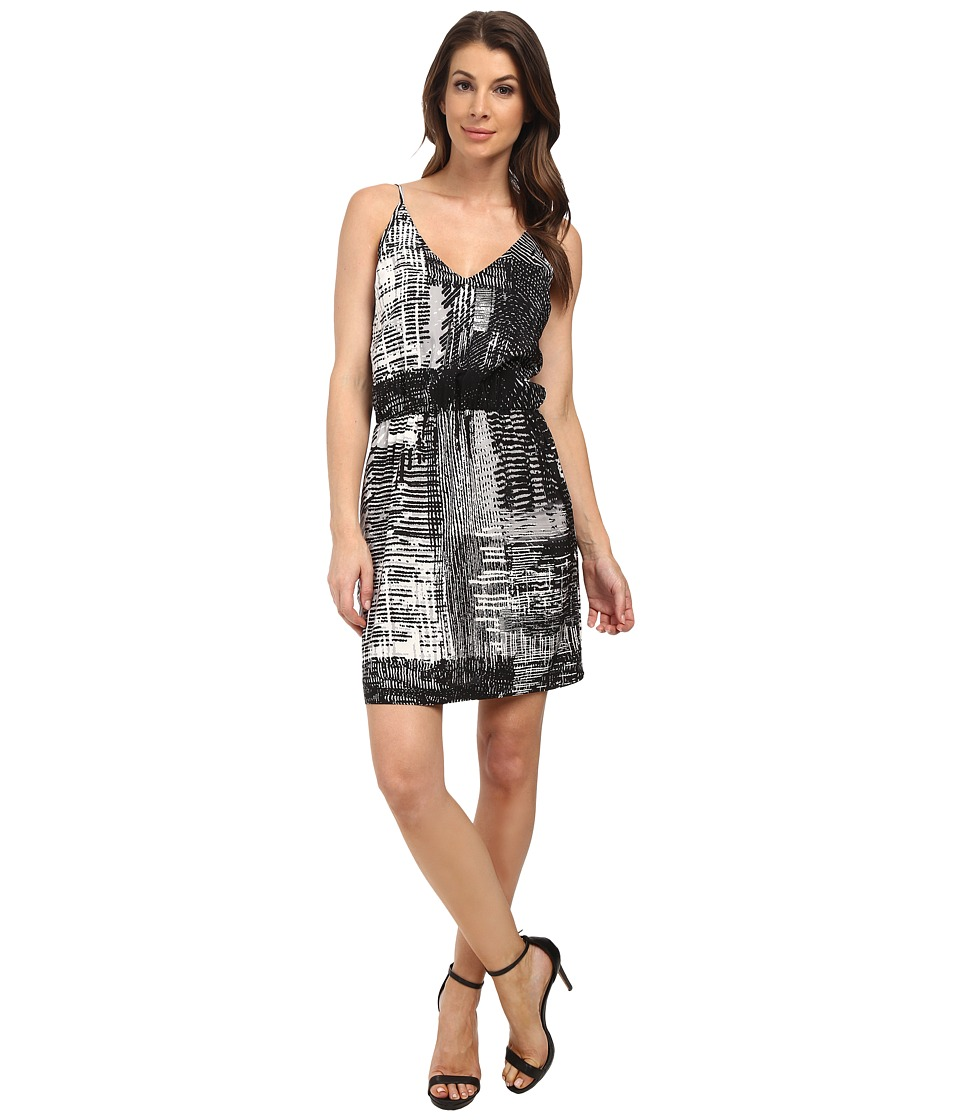 Amanda Uprichard Ashton Dress (Charcoal Pleated) Women's Dress