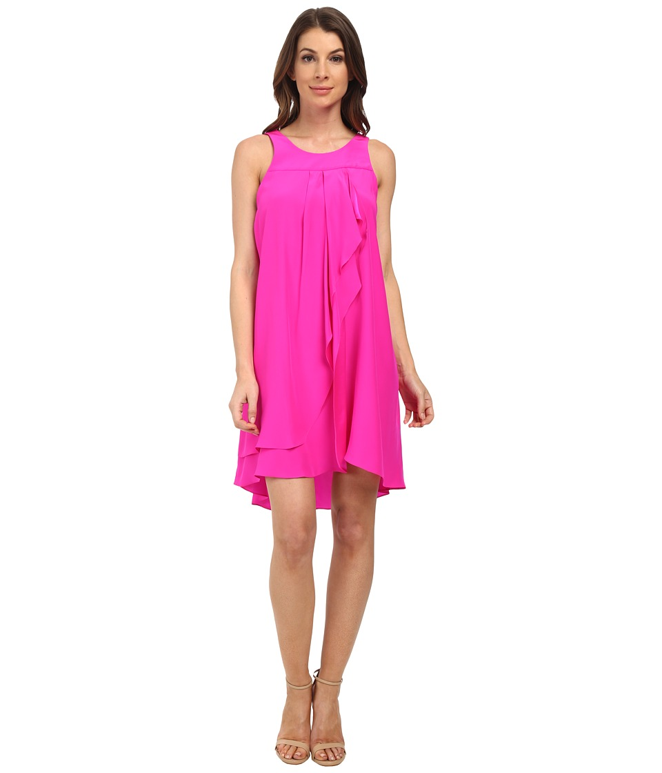 Amanda Uprichard Fallon Dress (Hot Pink Light) Women