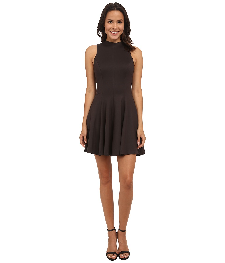 Amanda Uprichard Warby Dress (Charcoal) Women's Dress