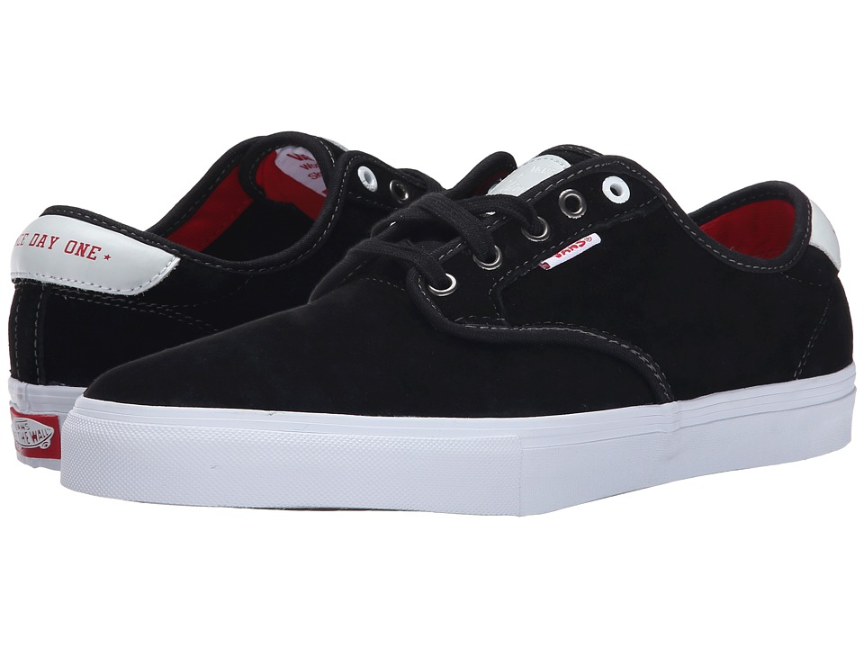Vans - Chima Pro (Black Real Skateboards) Men's Skate Shoes