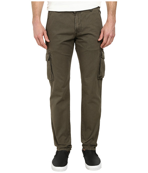 William Rast - Twill Pants (Olive) Men