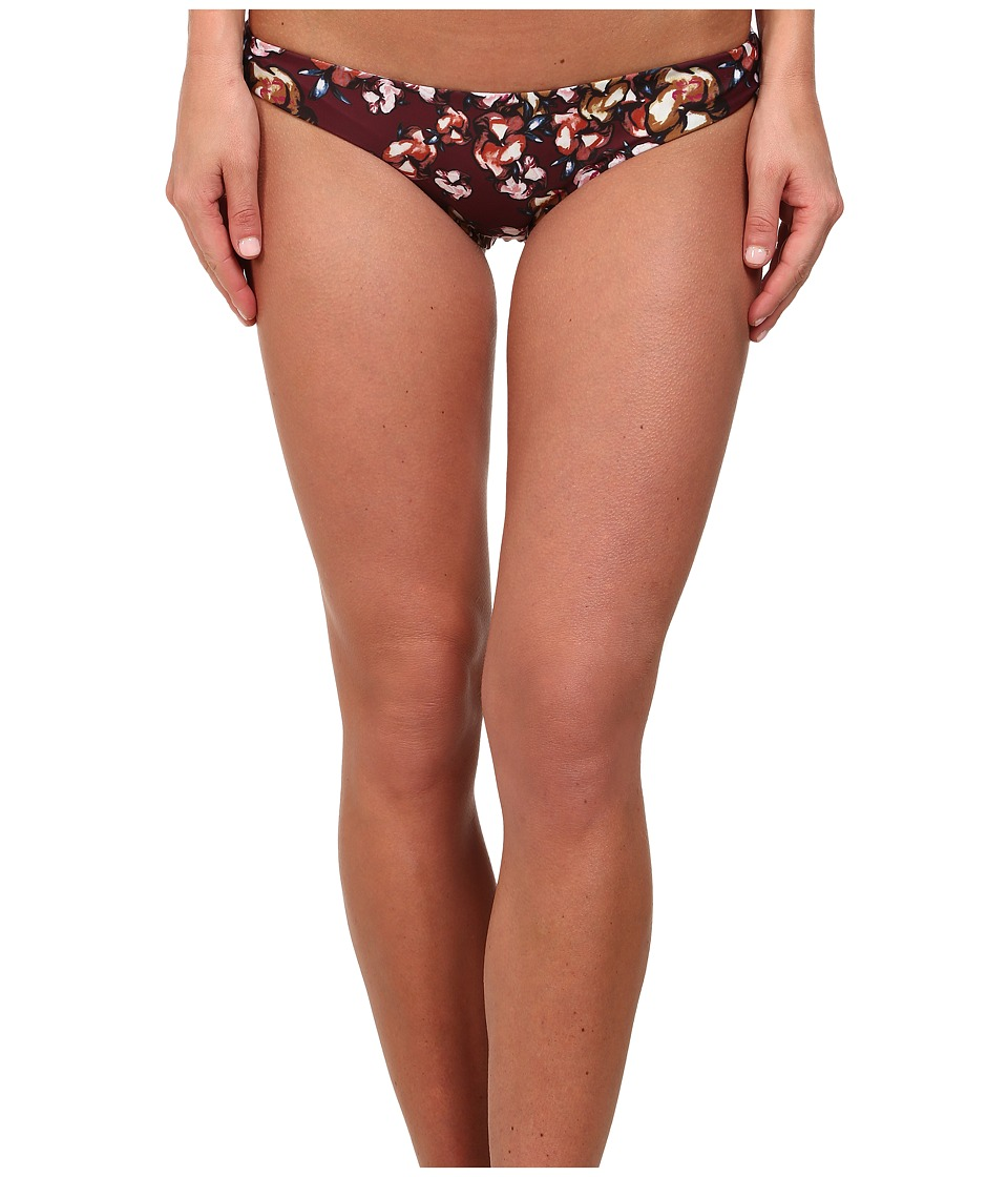 Beach Riot - Sandy Bottoms (Crimson Floral) Women