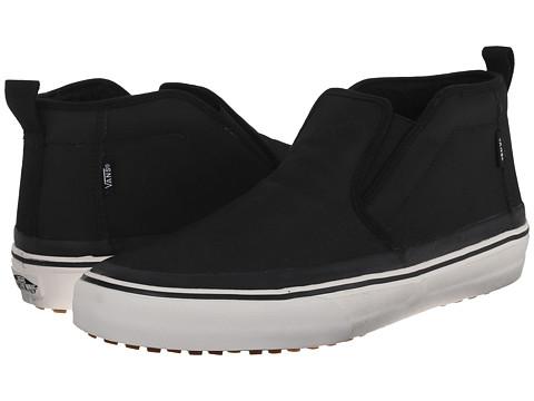 Vans - Mid Slip HF MTE ((MTE) Black/Fleece) Men's Skate Shoes