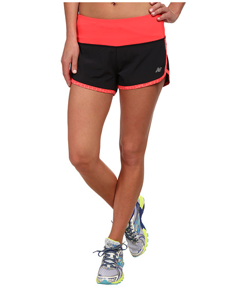 New Balance - Impact 3 Shorts (Bright Cherry) Women's Shorts