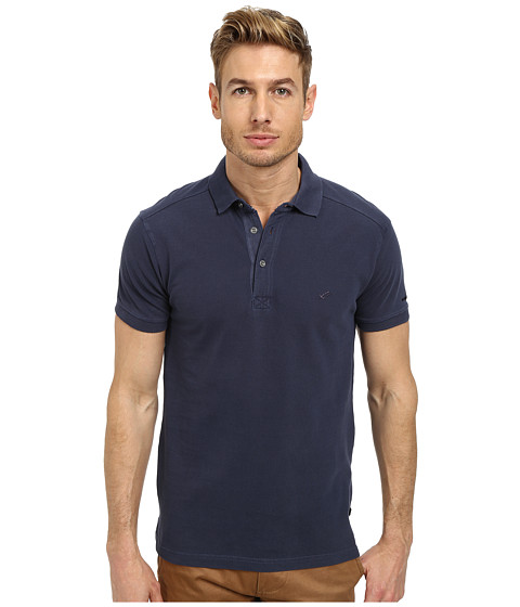 William Rast - Polo T-Shirt (Navy) Men's T Shirt