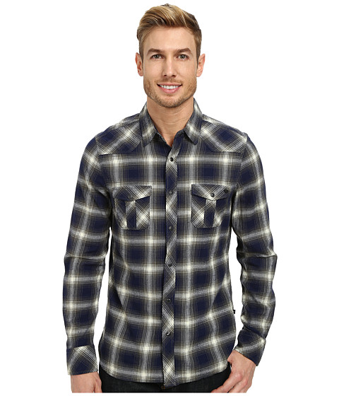 William Rast - Plaid Shirt (Khaki) Men's Clothing