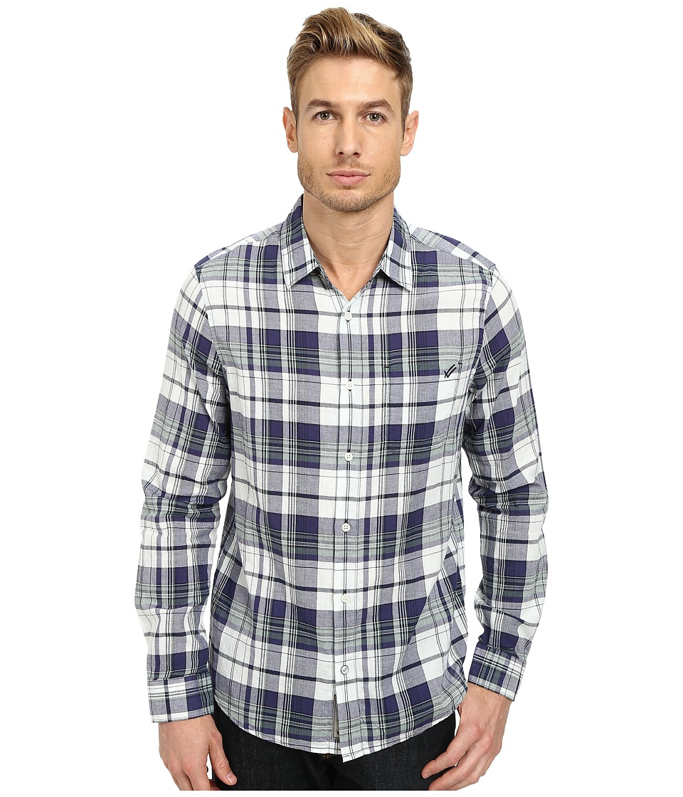 William Rast - Lightweight Check Shirt (Sage) Men's Clothing