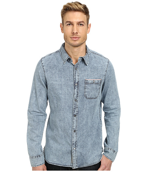 William Rast - Snow Wash Shirt (Light Indigo) Men