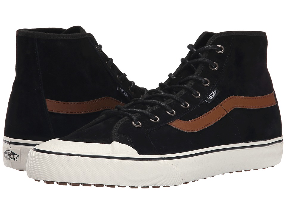 Vans - Black Ball Hi SF MTE ((MTE) Black/Flannel) Men's Skate Shoes