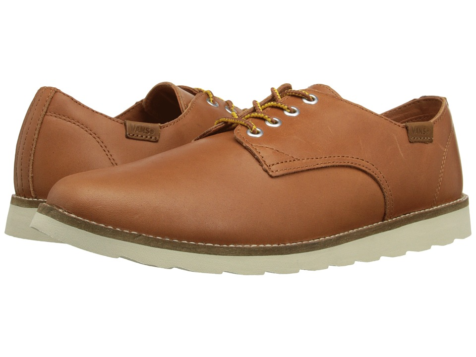 Vans - Desert Point ((Leather) Rust) Men's Shoes