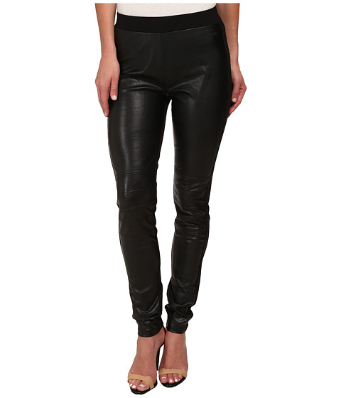 William Rast - Motocross Leggings (Black) Women's Clothing