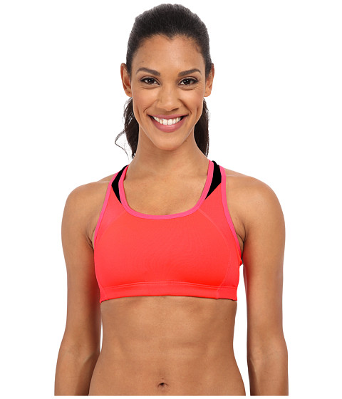 New Balance - The Fab Framer I (Bright Cherry) Women's Bra