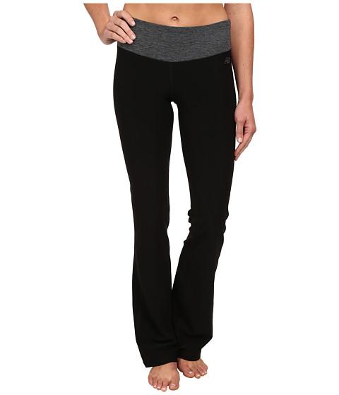 New Balance - Fierce Flare Pants - Long (Black Heather) Women's Workout