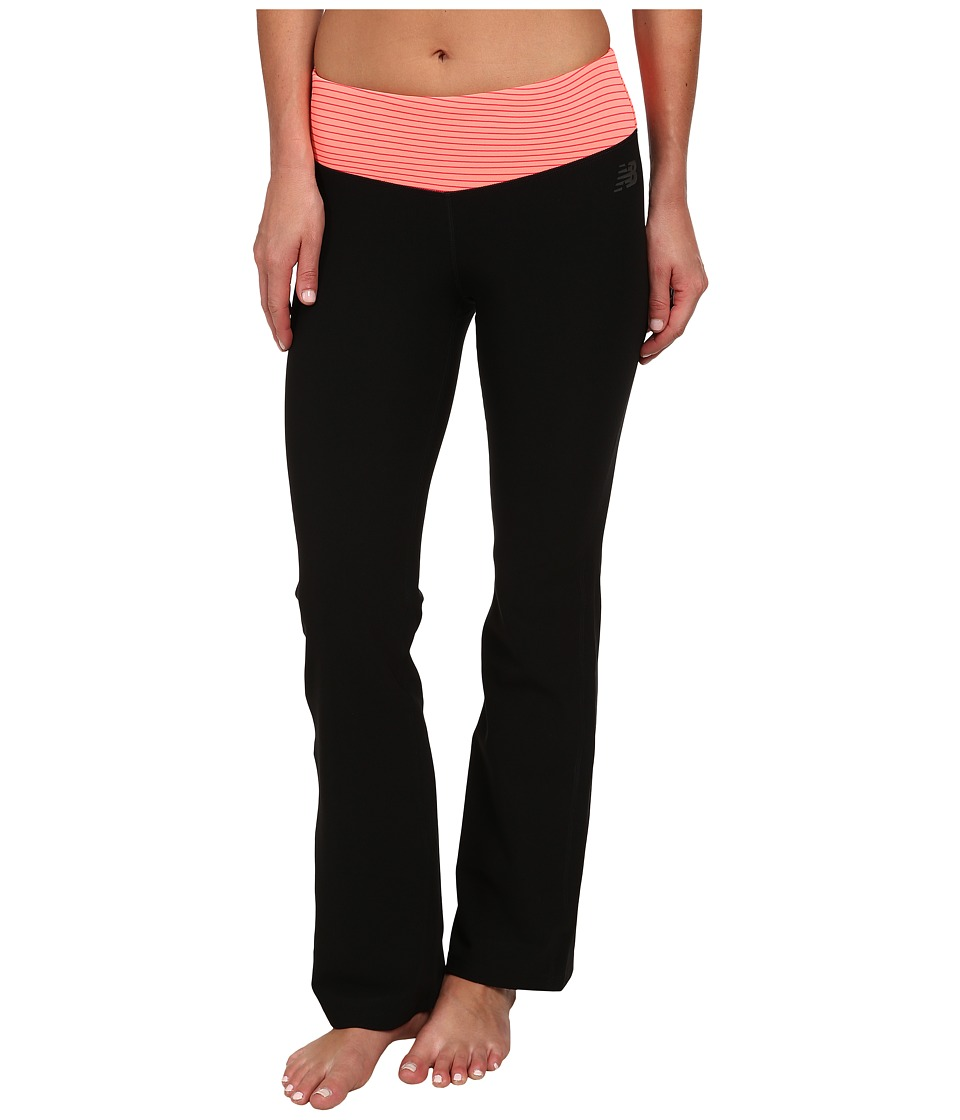 New Balance - Fierce Flare Pants - Short (Bright Cherry) Women's Workout