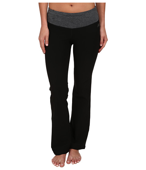 New Balance - Fierce Flare Pants - Short (Black Heather) Women's Workout