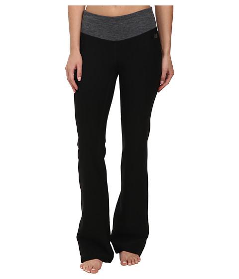 New Balance - Fierce Flare Pants - Regular (Black Heather) Women's Workout