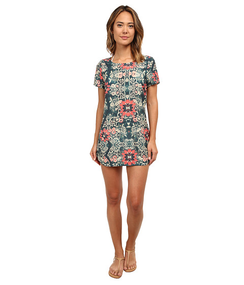 Beach Riot - Costa Chica Short Sleeve Dress (Azul) Women